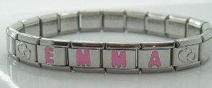 Italian Name 01-01-01 Text Link Charm