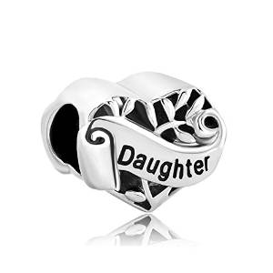 Pandora 3 Sided Daughter Charm