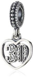 Pandora 30th Birthday Clip On Charm