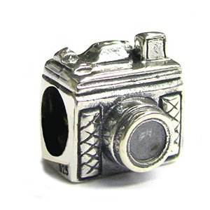 Pandora 3D Classic Photography Camera Charm