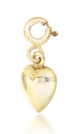 Pandora 9CT Yellow Gold Heart Charm