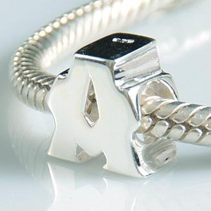 Pandora A Initial Letter Charm