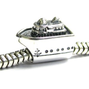Pandora Antique Cruise Ship Charm