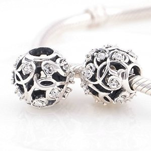 Pandora Antique England Rose Charm