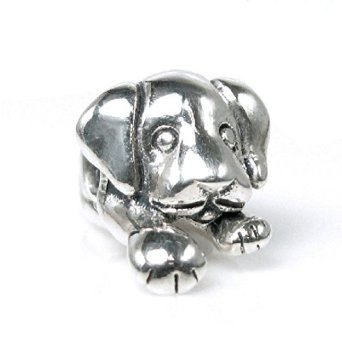 Pandora Antique Puppy House Dog Charm