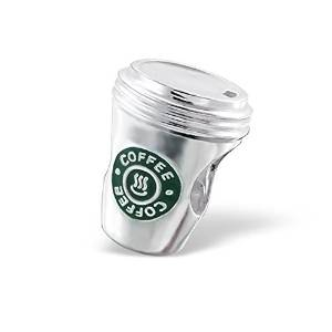 Pandora Antique Solid Starbucks Cup Charm