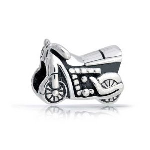 Pandora Antique Styled Motorcycle Charm image