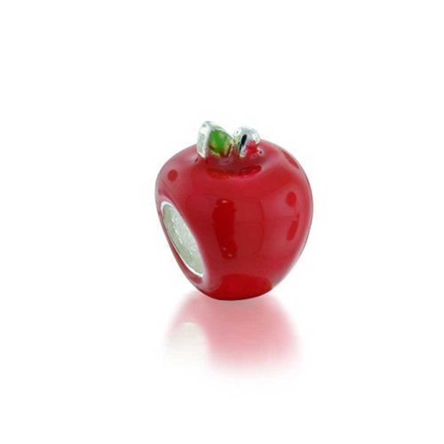 Pandora Apple Shaped Teacher Enamel Charm