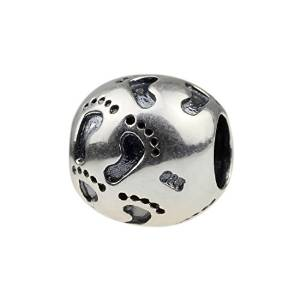 pandora baby footprint charm best selling jewellery