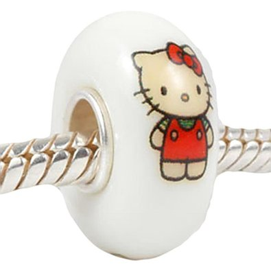 Pandora Baby Pink Hello Kitty Charm