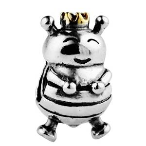 Pandora Bee With Silver Chain Pendant Charm