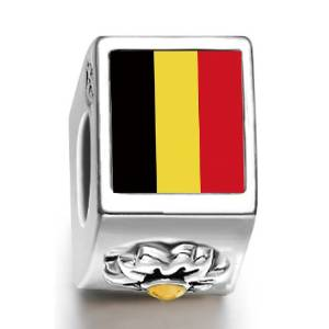 Pandora Belgium Flag Photo Charm