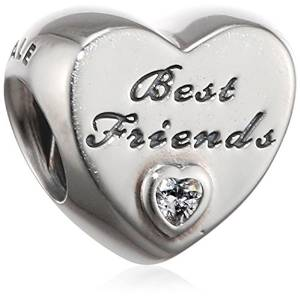 Pandora Best Friends Combined Heart Charm