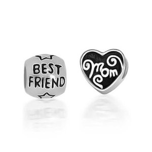 Pandora Best Friends Mom Heart Set Charm