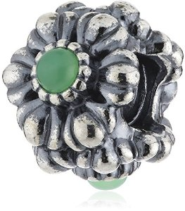 Pandora Birthday Blooms May Chrysoprase Charm