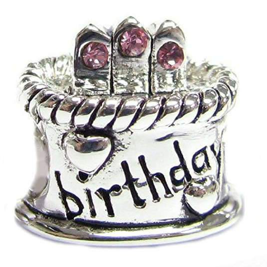 Pandora Birthday Cake With Candle Charm