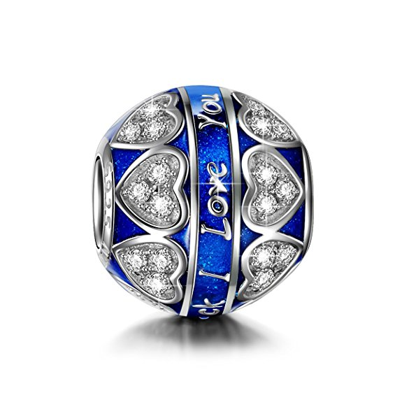 Pandora Birthstone Crystal I Love You To The Moon And Back Mum Mother Charm