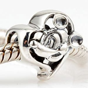 Pandora Buddy Mickey Mouse Heart Charm