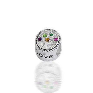 Pandora CZ Family Tree Charm