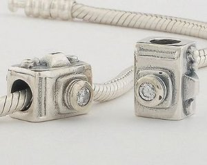 Pandora Camera Clear CZ Charm smaller image