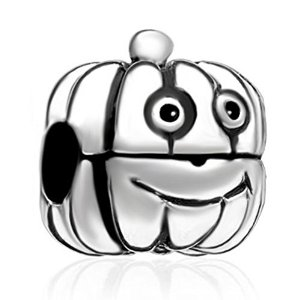 Pandora Cartoon Jack O Lantern Pumpkin Charm