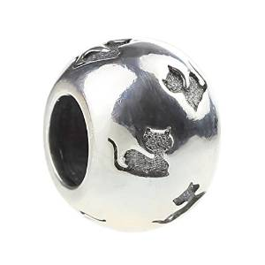 Pandora Cat Sillouette Spacer Charm