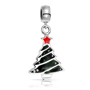 Pandora Christmas Tree Dangle Charm