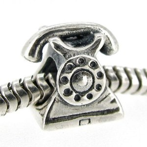 Pandora Classic Antique Telephone Charm