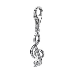 Pandora Clef Hot Diamonds Charm
