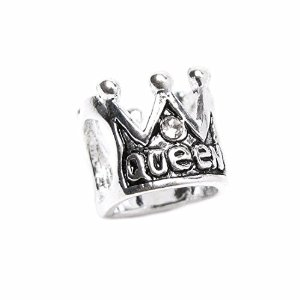 Pandora Crown Queen Clear CZ Story Charm