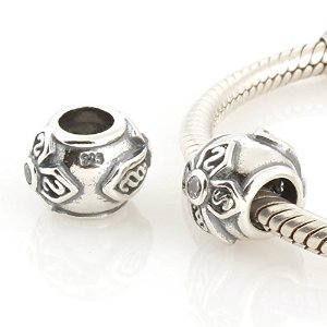Pandora Crystal Saint Cross Clear Crystals Charm