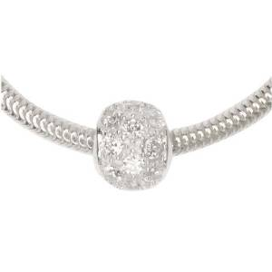 Pandora Cubic Zirconia Pave Spacer Charm