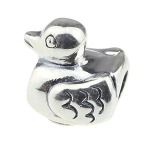 Pandora Cute Duck Sitting Charm