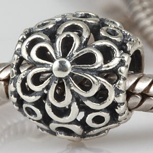 Pandora Daisy Round Spacer Charm smaller image