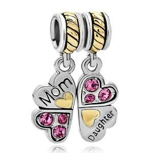 Pandora Dangle Butterfly With Clear Rhinestones Charm