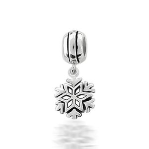 Pandora Dangle Christmas Snowflake Charm
