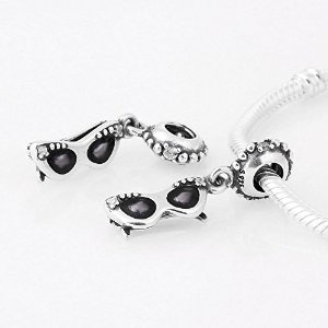 Pandora Dangle Sunshine Diva Crystal Charm