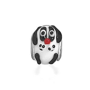 Pandora Dog Glass Animal Charm