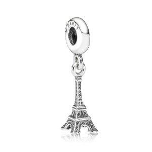 Pandora Eiffel Tower Dangle Silver Bead Charm