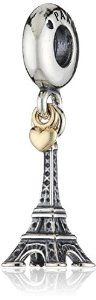 Pandora Eiffel Tower Pendant Two Tone Charm