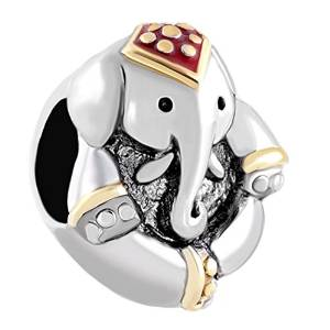 Pandora Elephant Fancy Charm