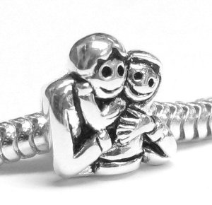 Pandora Father Daughter Love Charm