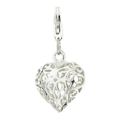 Pandora Filigree Heart Clip On Charm