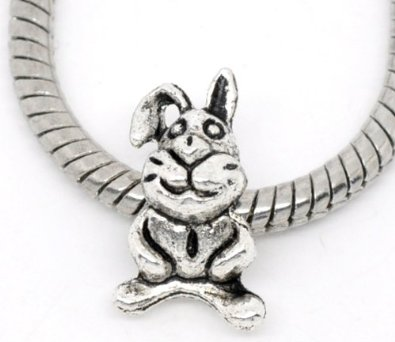 Pandora Floppy The Rabbit Sterling Silver Charm