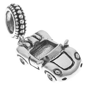 Pandora Formula One Racing Car Dangle Charm