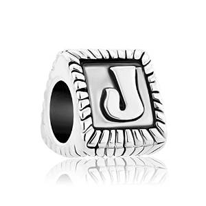 Pandora Glamulet J Triangular Barrel Charm