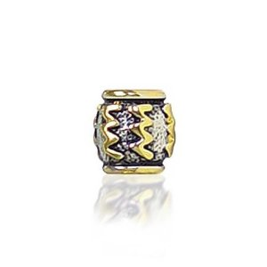 Pandora Gold Plated Aquarius Zodiac Charm