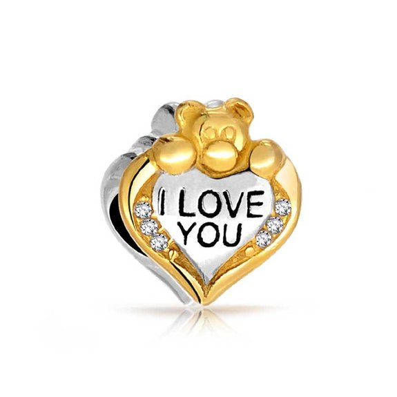Pandora Gold Plated Heart I Love You Charmbest Selling