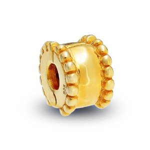 Pandora Gold Plated Stopper Charm