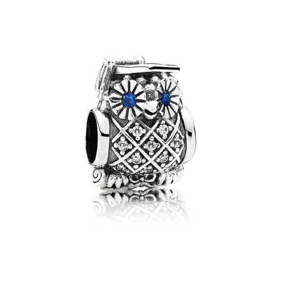 Pandora Graduate Owl With Hat Charm